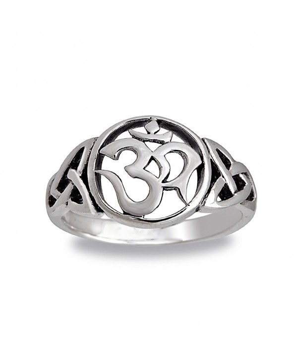 Sterling Silver Cut Out Hindu Symbol