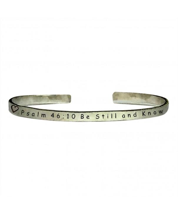 Psalm 46 Bracelet Jewelry Aluminum