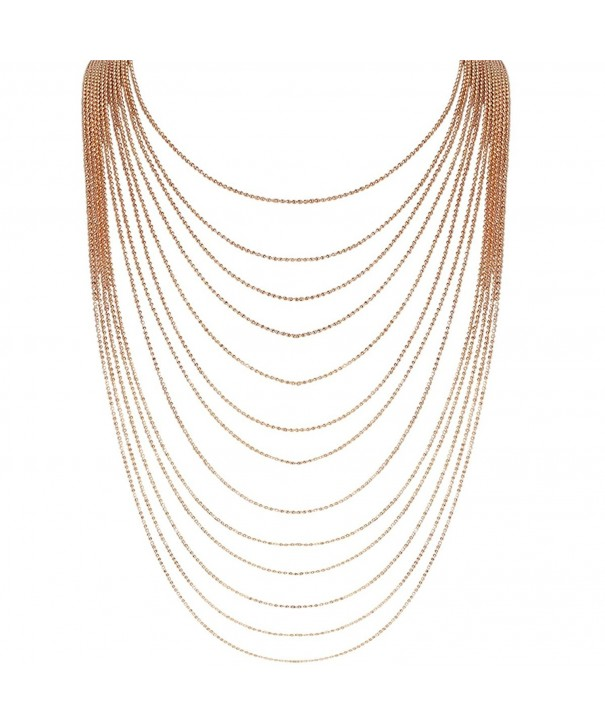Humble Chic Multi Strand Statement Necklace