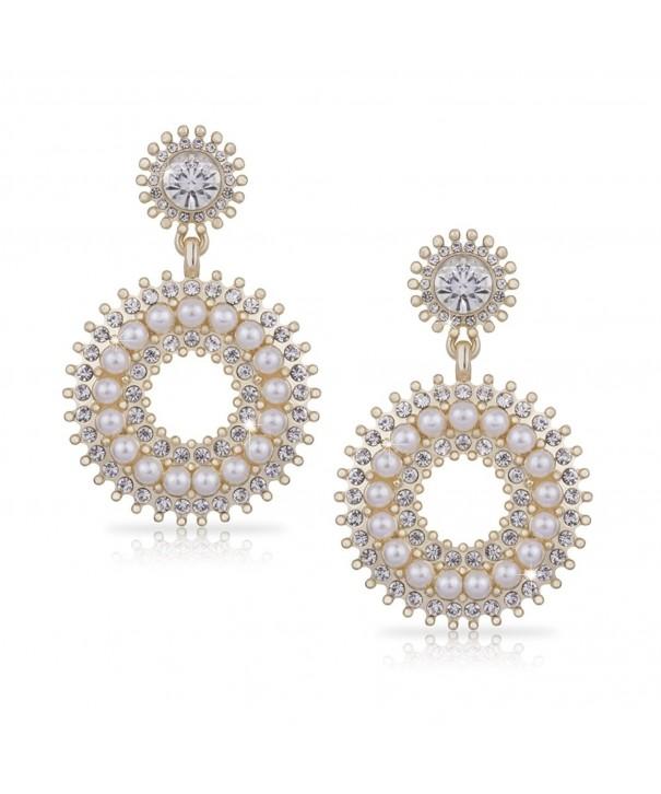 SIFUNUO Earring Earrings Rhinestone Crystals
