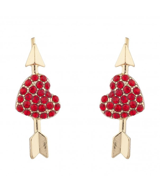 Lux Accessories Valentines Novelty Earrings