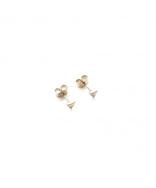 HONEYCAT Triangle Earrings Minimalist Delicate