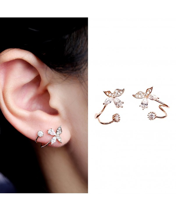 EVERU Butterfly Jewelry Piercing Earrings