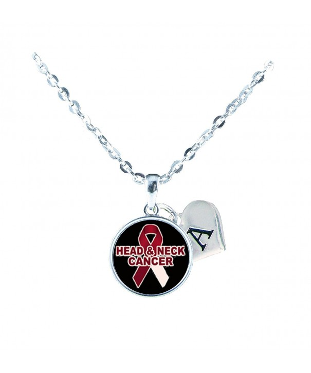 Custom Awareness Necklace Jewelry Initial