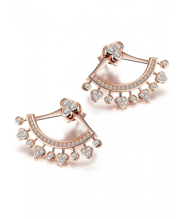 Wistic Sterling Silver Earrings Crystal