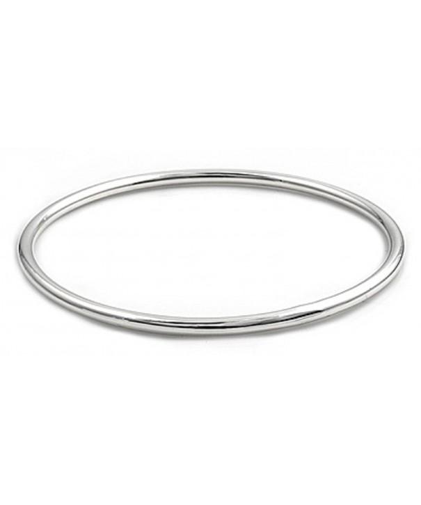 CloseoutWarehouse Sterling Silver Bangle Bracelet