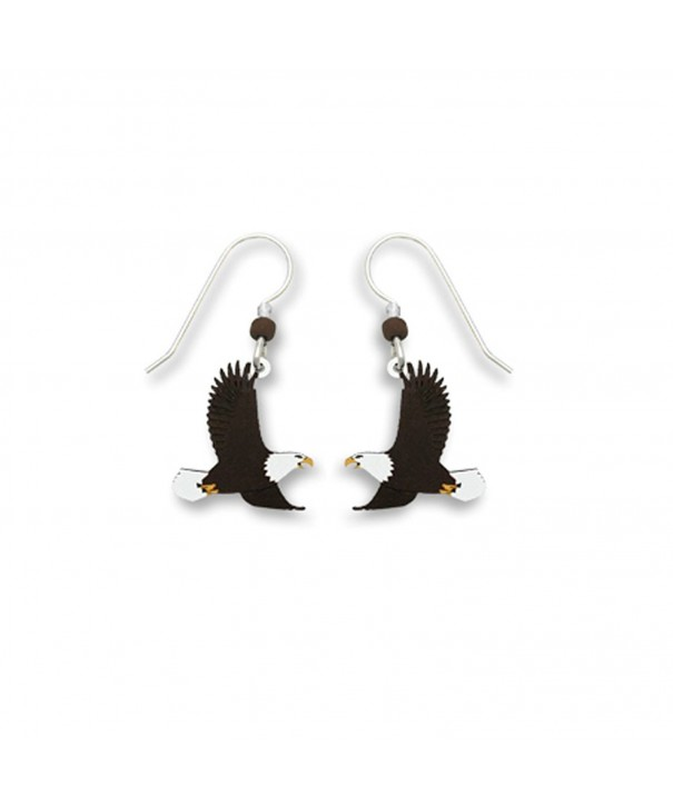 Sienna Sky Bald Eagle Earrings