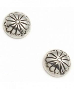 Stamped Sterling Silver Studs Julia