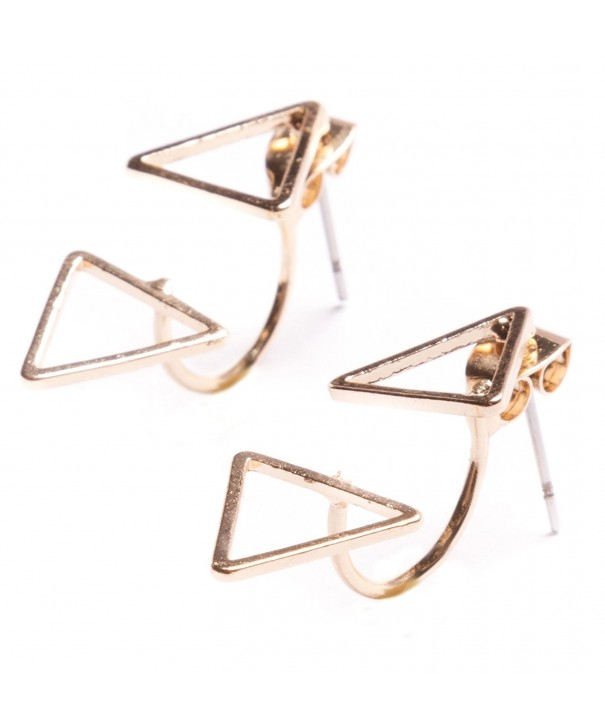 Jackets Earrings Delicate Triangle nickel
