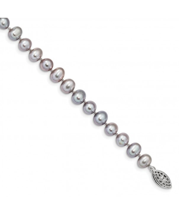 Sterling Silver Freshwater Cultured Bracelet