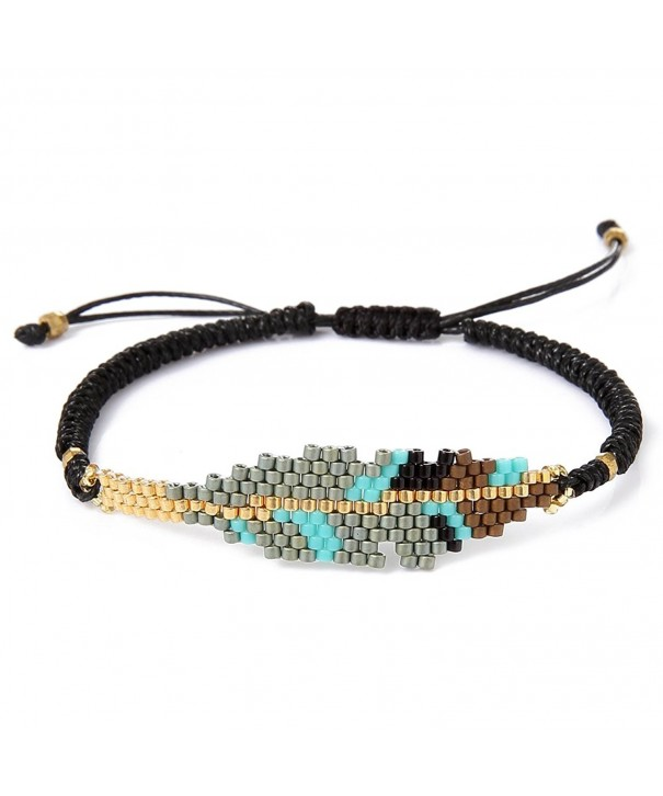 BeadChica Handmade Tribal Seed Bracelet