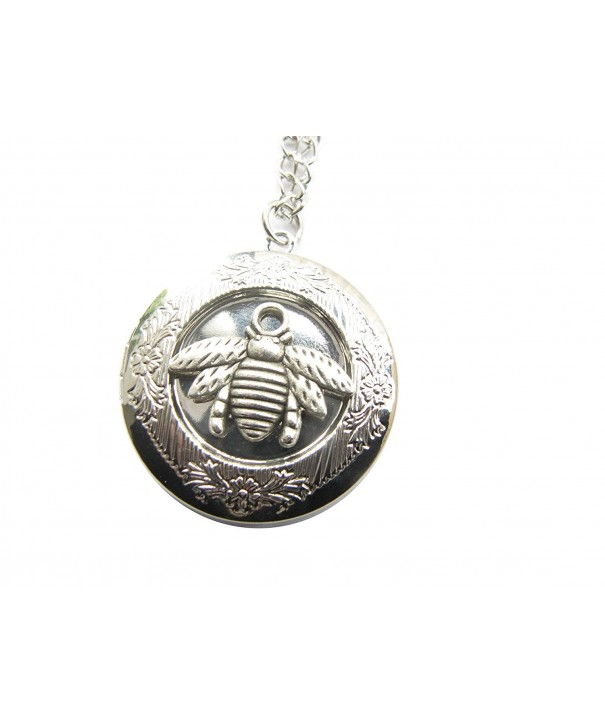 Necklace Locket bumble ancient Silver