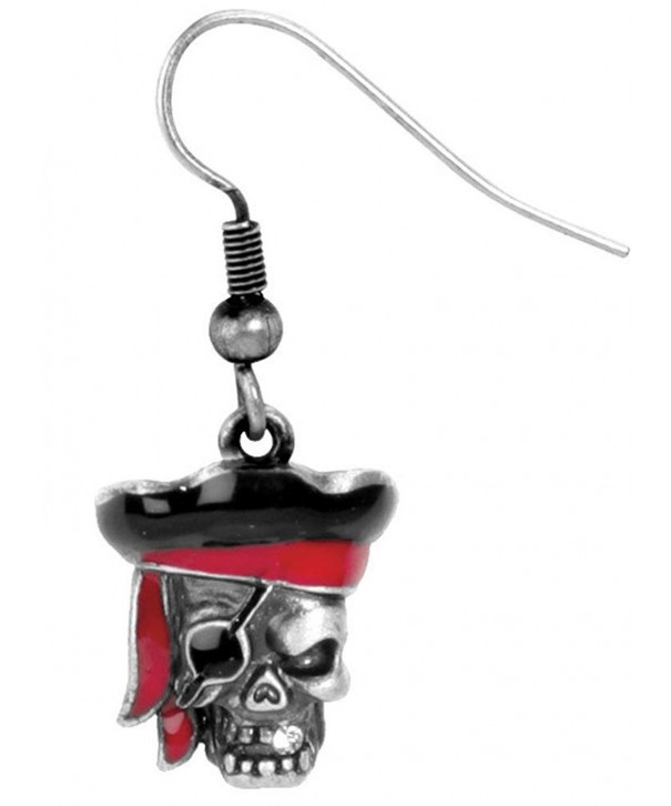 Pirate CapN Earrings Jewelry Fish