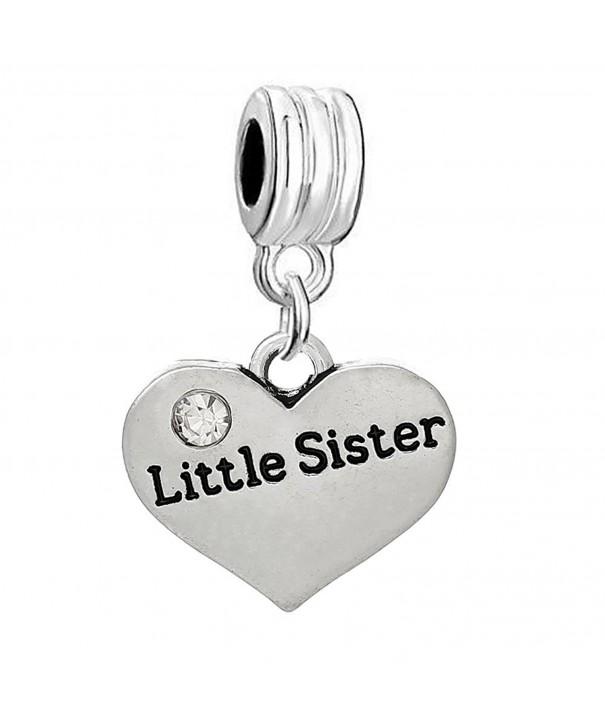 Little Sister Rhinestones Pendant Bracelets