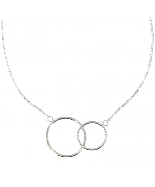 Poulettes Jewels Sterling Necklace Circles