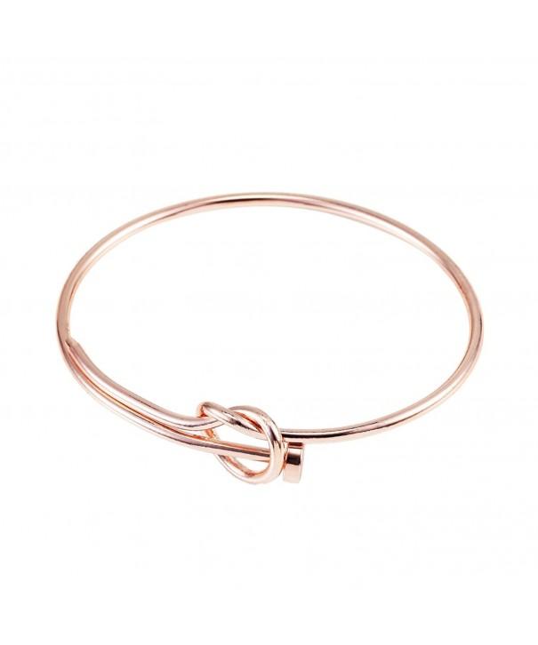 Fashion Twist Bangle Bracelet Heart