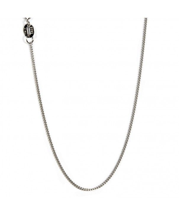 Sterling Diamond Necklace Italian Nickel Free