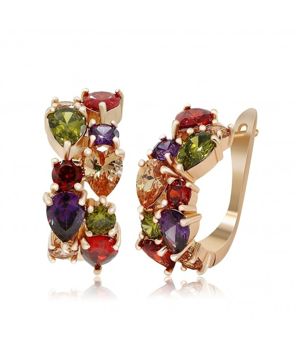 Kemstone Crystal Earrings Fashion Jewelry
