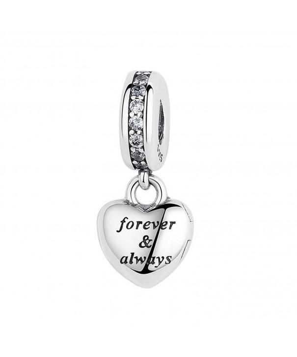 Kiss Beautiful Sterling European Bracelet