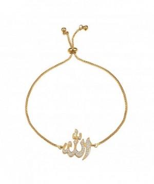 Bracelet Zirconia Adjustable Jewelry Islamic