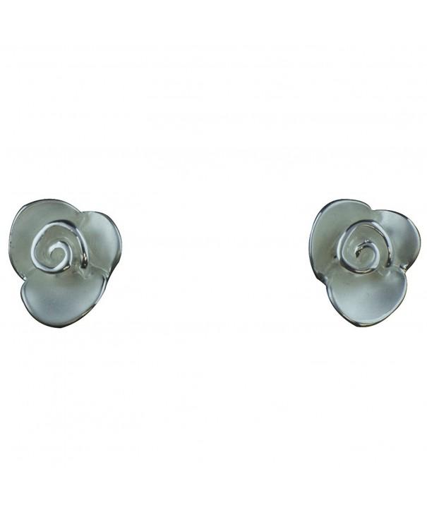 Takobia Womens Small Flower Earrings