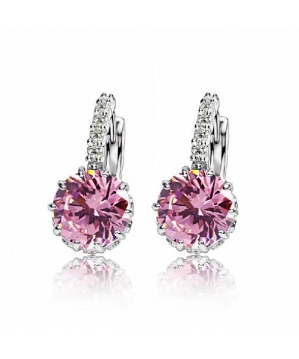 Earrings Princess Crystal Zircon Earring