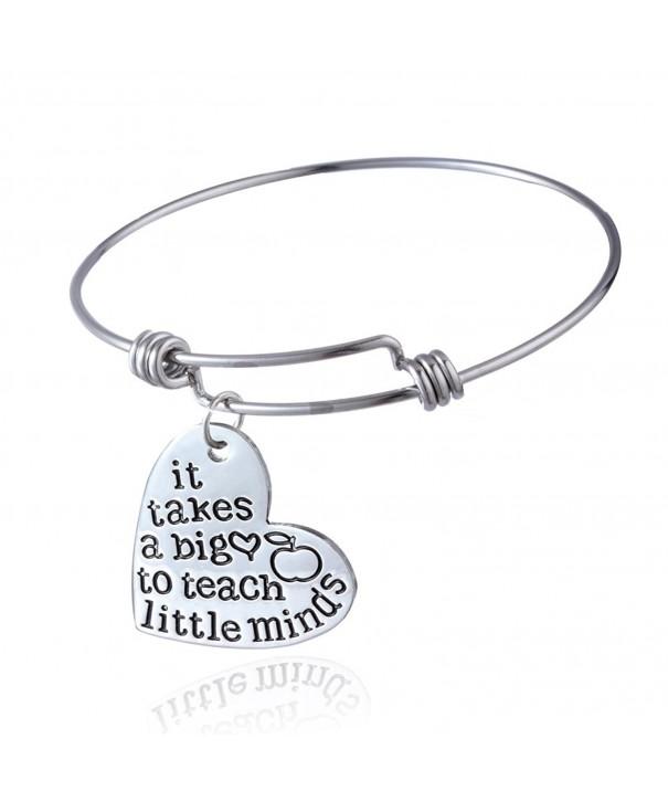 Begins Teachers Bangles Expandable Bracelets