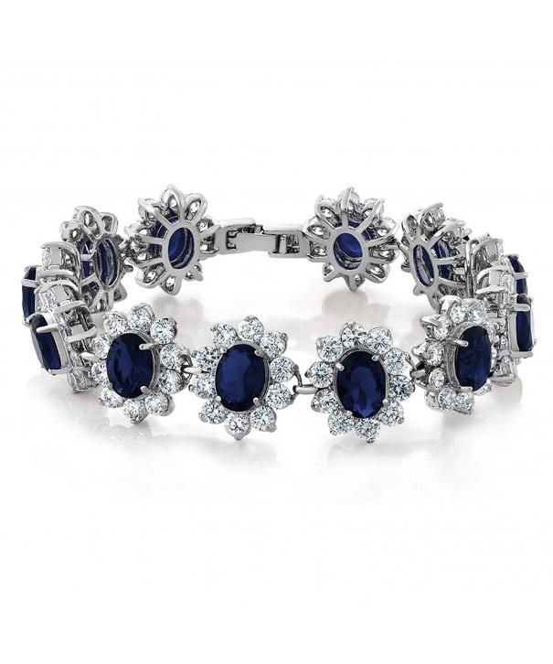 27 00 Sapphire Tennis Bracelet Security