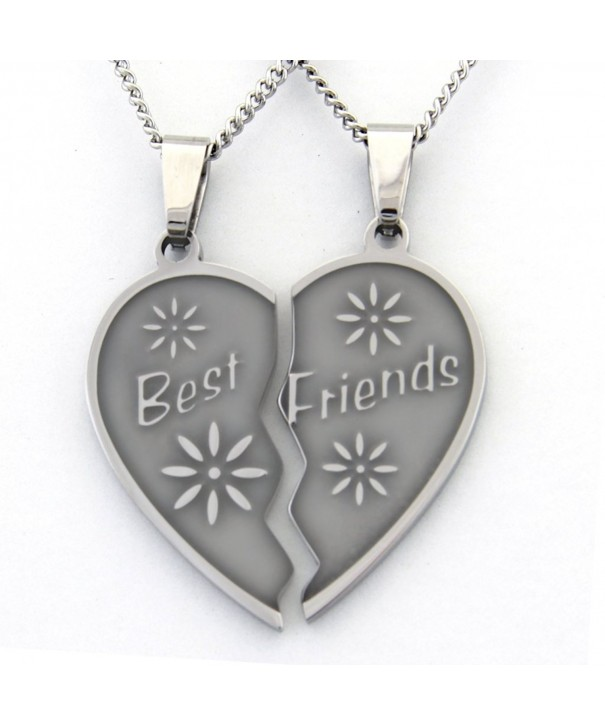 Friend Necklaces Necklace Pieces Friendship