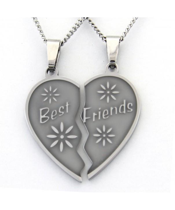 Friend Necklaces Necklace Pieces Friendship