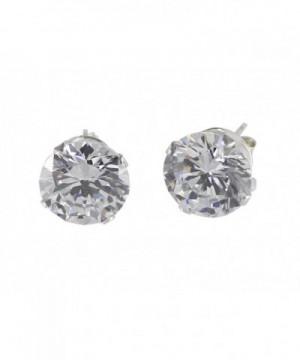 Sterling Silver Womens Earrings Zirconia