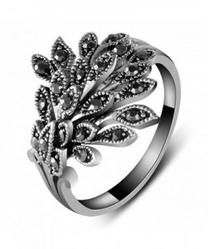 Yfnfxl Marcasite Rhinestone Statement Cocktail