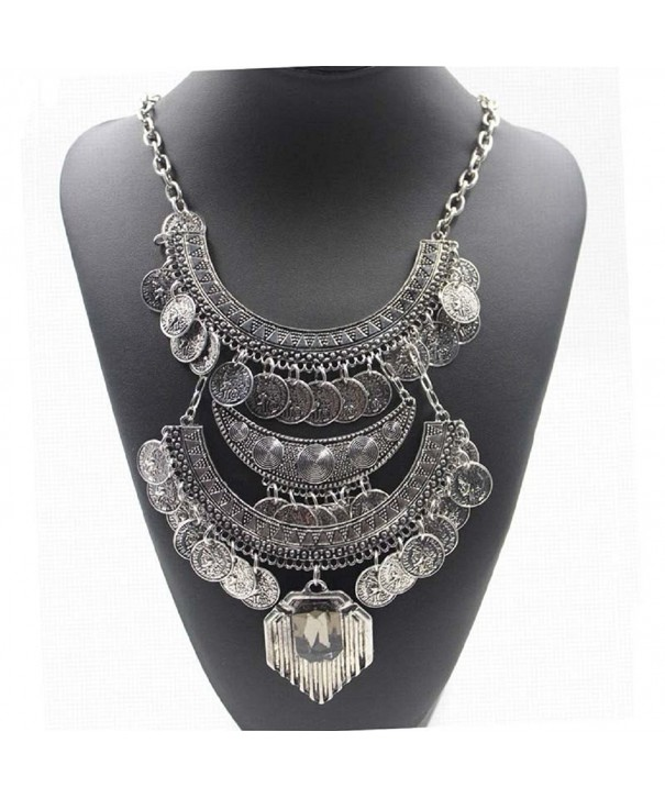 BESSKY Pendant Statement Vintage Necklace