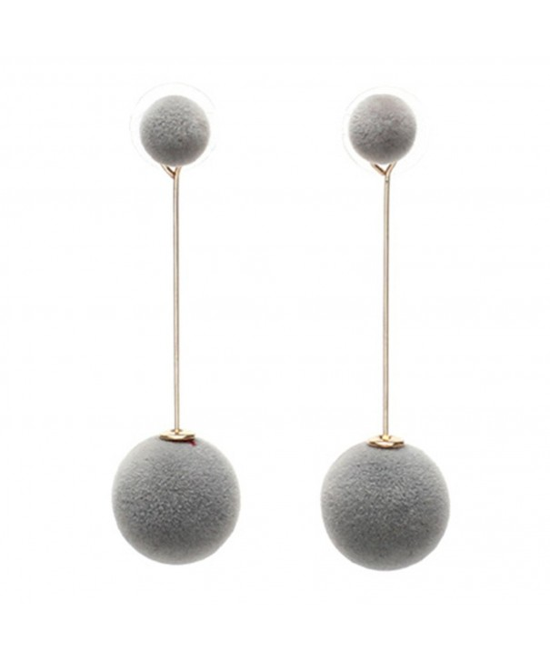 Plated Two Tone innovative Double Earrings