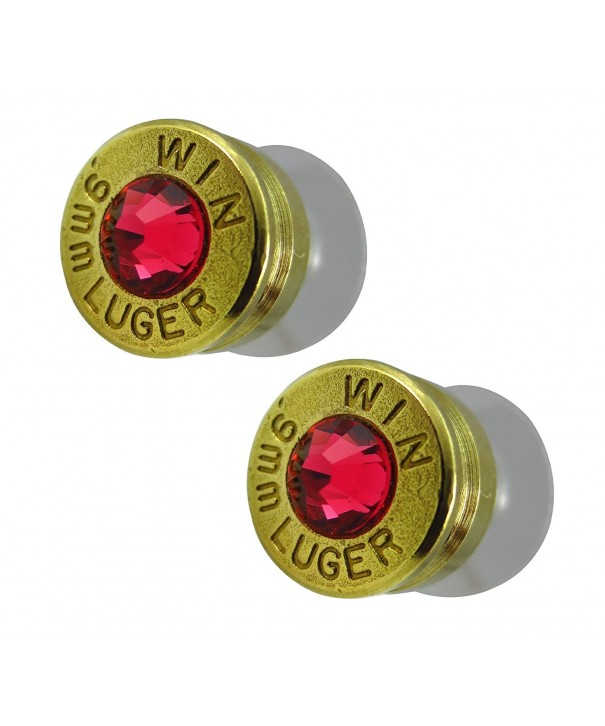 LoriDavidson Designer Bullet Crystal Earrings