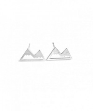 Rosa Vila Mountain Earrings Silver