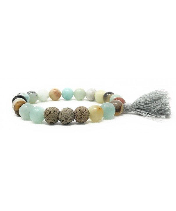 Essential Precious Gemstone Bracelet Amazonite