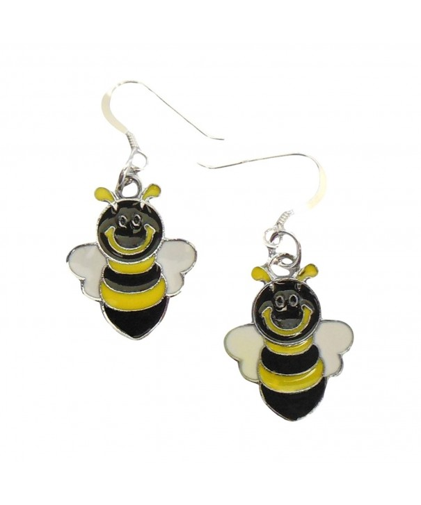 Bumble Earrings Sterling Silver Earwires