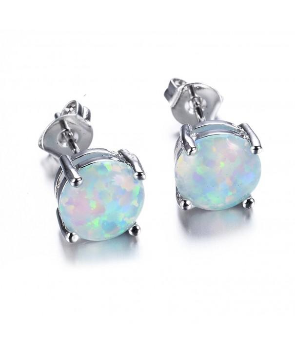 JunXin Jewelry White Color Earring