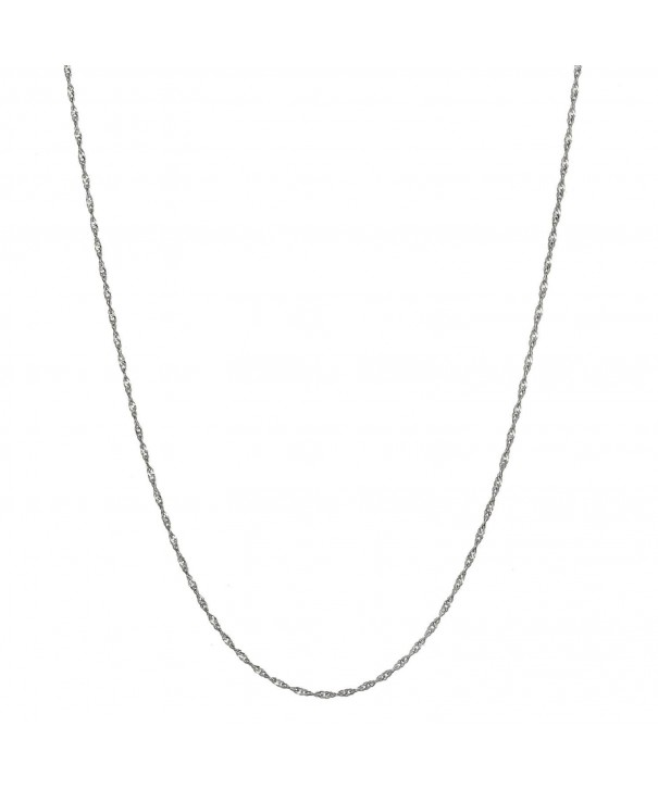 Sterling Silver Italian Twisted Necklace