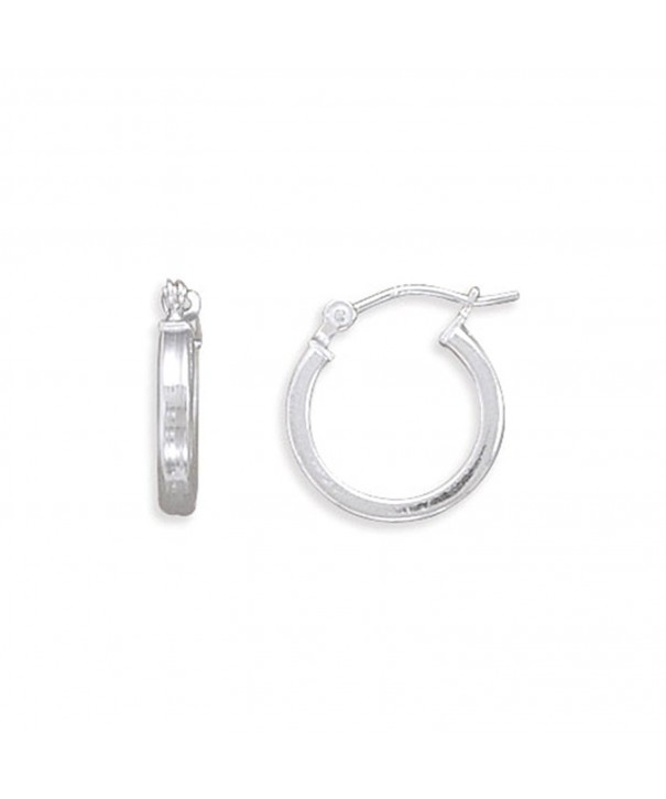 Earrings Extra Square Sterling Silver