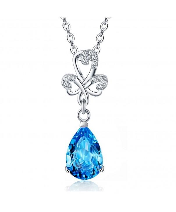 Sephla Jewelry Zirconia Earrings Necklace