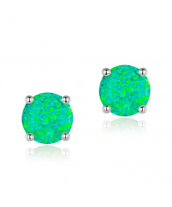 OPALTOP Green Earrings Plated Ladies
