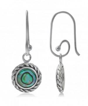 Abalone Sterling Silver Interchangeable Earrings