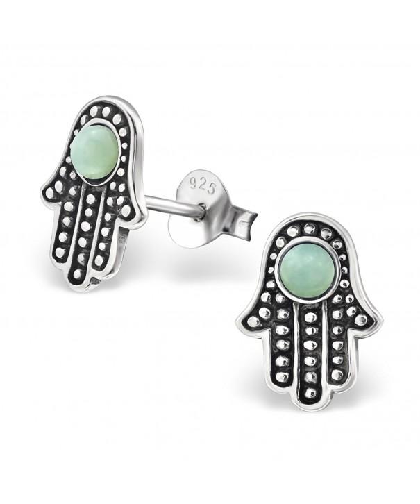 Atik Jewelry Silver Precious Stones