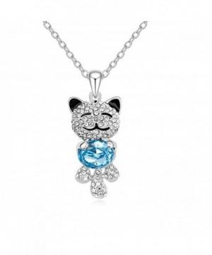CASOTY Lucky Crystal Necklace Pendant
