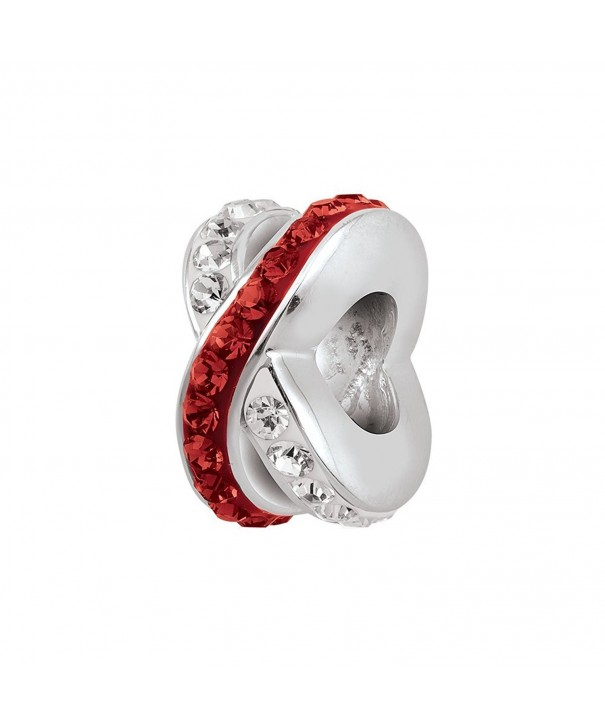 Persona Sterling Silver Crystal Spacer