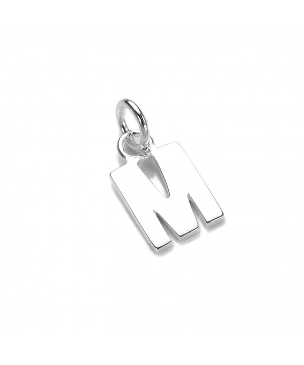 Sterling Silver Alphabet Letter Charms