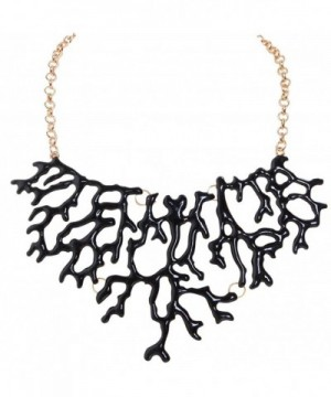 Humble Chic Mermaid Necklace Coral Shape