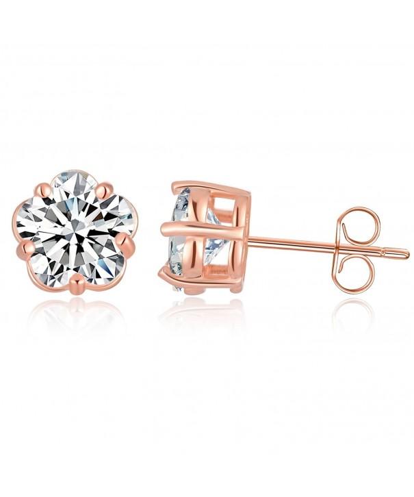 Sephla Sterling Blossom Zirconia Earring